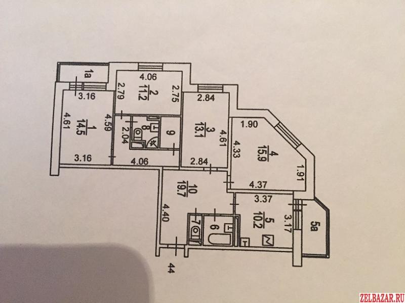 4к.  квартира в Зеленограде,  к2040