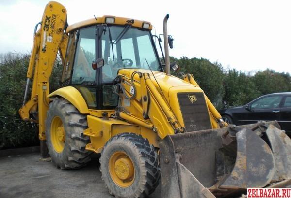 JCB трактор,  экскаватор - погрузчик с водителем