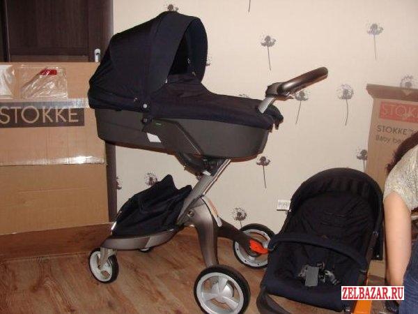 Stokke Xplory Stroller 2012 - Blue Melange (Limited Edition)  440EUR
