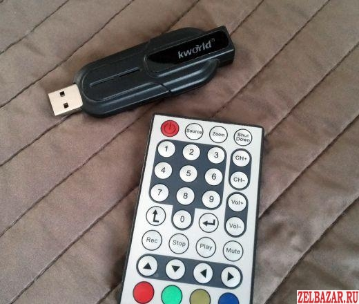 Аналоговый тюнер KWorld USB Analog TV Stick III
