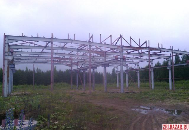 Ангар каркас склад 1050 кв м с демонтажем