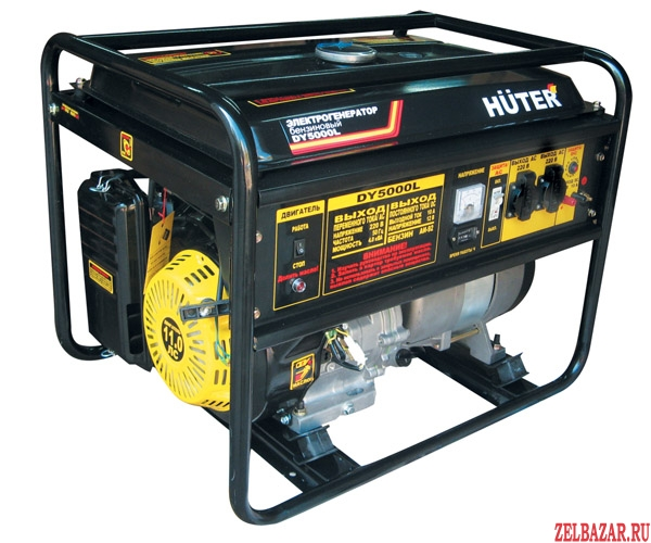 Аренда (прокат)  генератора Huter DY5000L