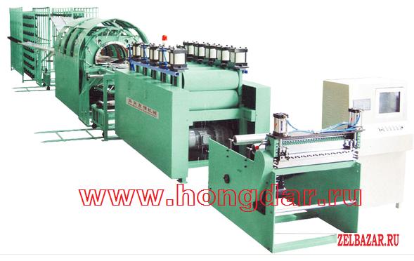 Автоматическая линия по производству бумажных мешков