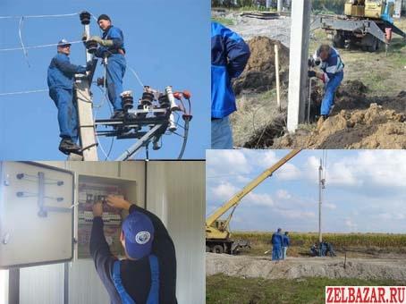 Бригада электромонтажников выполнит работы
