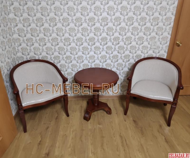 Чайная группа А-10,  2 кресла и чайный столик