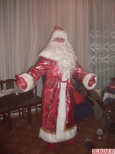 Дед Мороз и Снегурочк.   Шоу мыльных пузырей.   Ведущий.   Клоуны