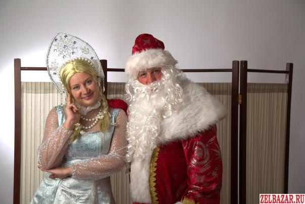 Дед Мороз и Снегурочка.   Аниматоры.   Шоу мыльных пузырей.   Ведущий