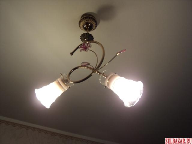 Электрик подключит, заменит или отремонтирует вашу люстру, светильник