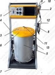 Электростатическая установка:  оборудование для порошковой краски DP-330 (EP-800