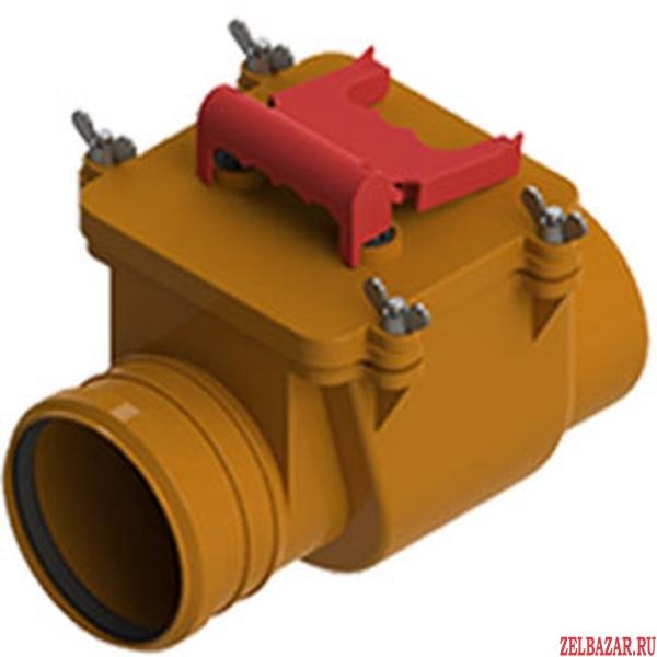 Клапан обратный ПВХ 110 кирп.