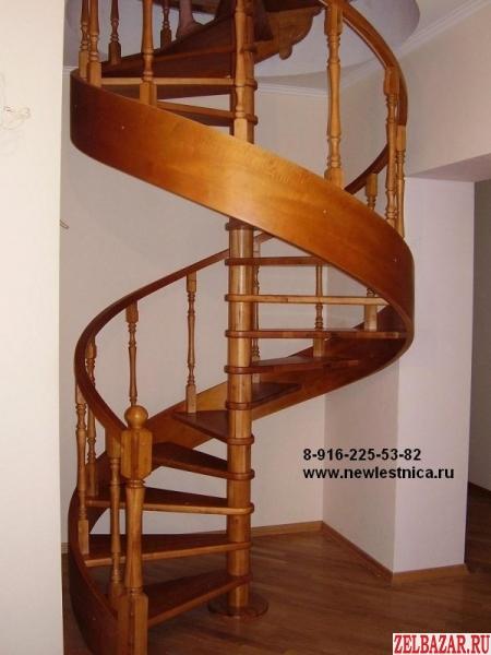 Красивые деревянные лестницы для дома,  квартиры,  коттеджа в Зеленограде