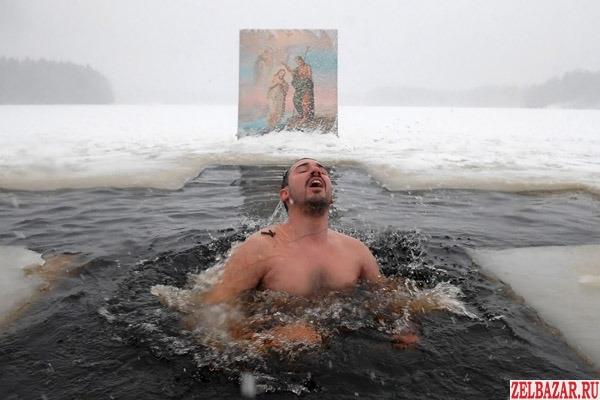 Крещение!  Рязань - Пощупово.