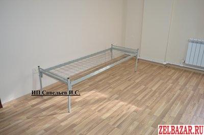 Кровати металлические для рабочих,  бытовок