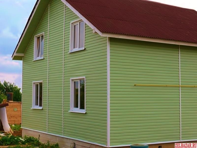 Новый дом из бруса 150 кв. м.  готовый к проживанию в д. Рождествено 35 км От МК