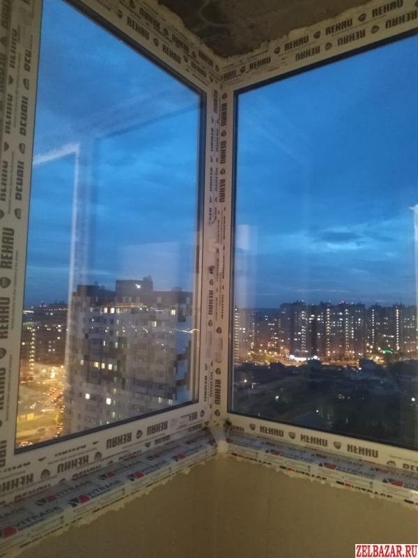 Остекление лоджий - окна Рехау Грацио
