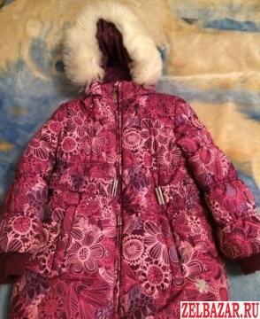 Пальто зимнее для девочки Barkito