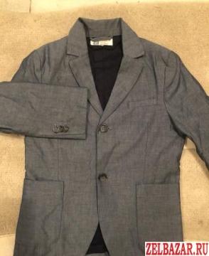 Пиджак для мальчика hм,  рост 134