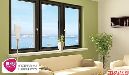 Пластиковые окна Rehau.       Остекление балконов и лоджий.