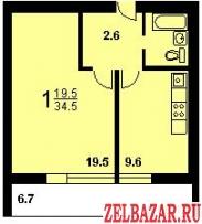 Продам 1-к квартиру на Войковской