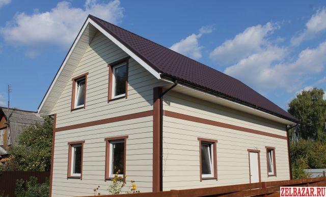 Продам дом 2-этажный дом 140 м² ( брус )  на участке 4 сот.  ,  30 км до города