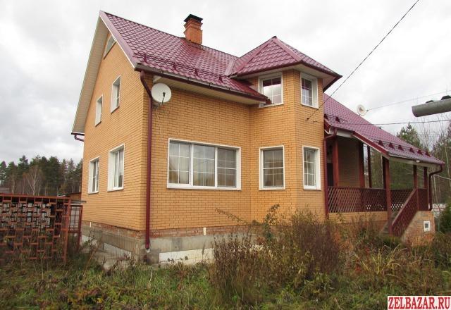 Продам дом 2-этажный дом 180 м² ( брус )  на участке 9 сот.  ,  15 км до города