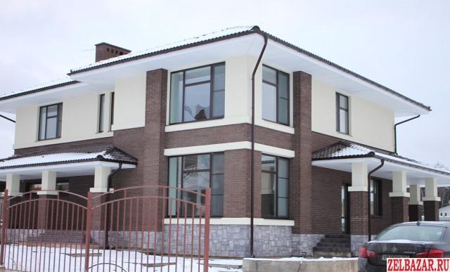 Продам коттедж 2-этажный коттедж 260 м² ( кирпич )  на участке 15 сот.  ,  32 км