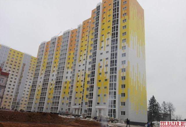 Продам квартиру в новостройке 1-к квартира 39 м² на 8 этаже 17-этажного панельно