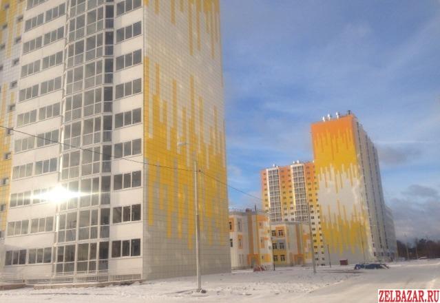Продам квартиру в новостройке 1-к квартира 50 м² на 9 этаже 17-этажного панельно