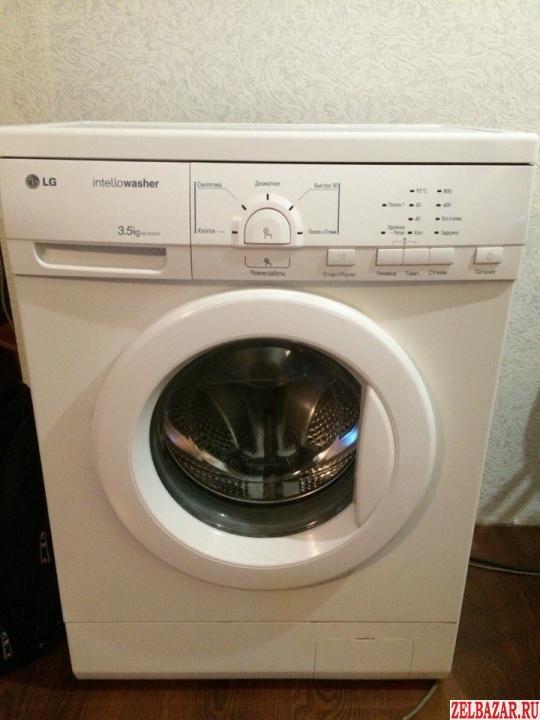 Продам стиральную Машинку LG 3. 5кг загрузки