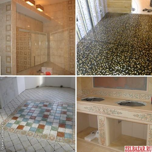 Профессиональная укладка плитки и мозаики