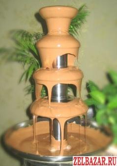 Профессиональный шоколадный фонтан