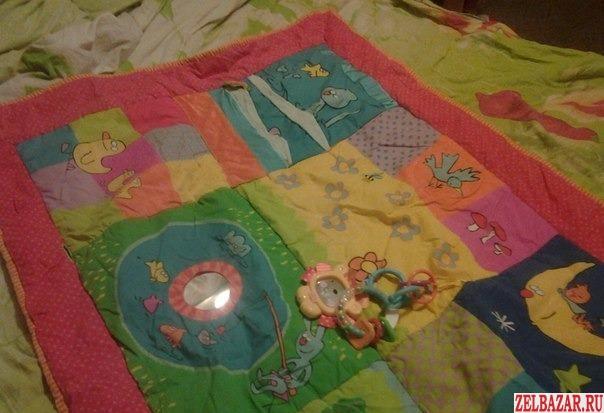 Развивающий игровой коврик(зеленоград)