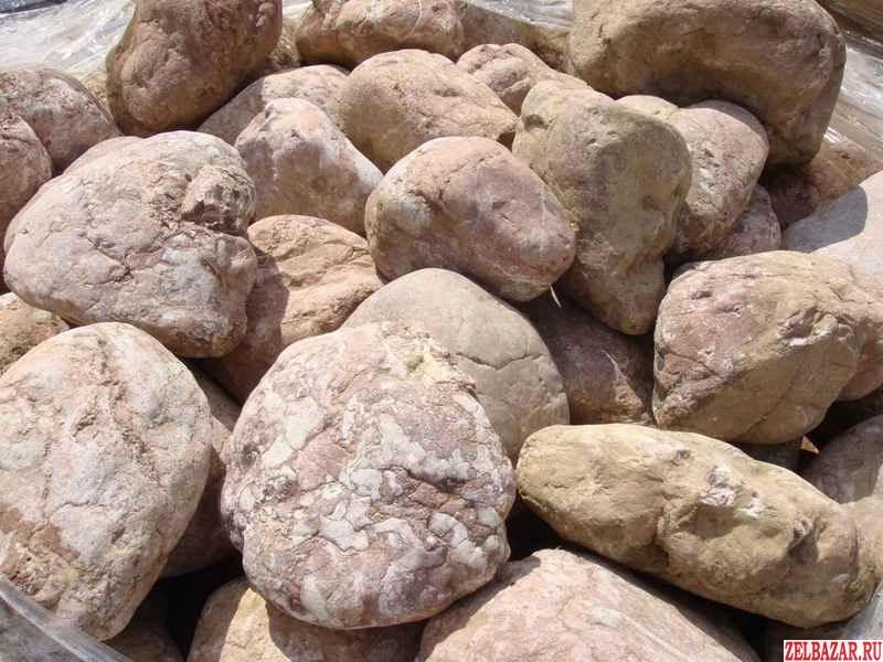 Речной камень галька,  валун,  песчаник.