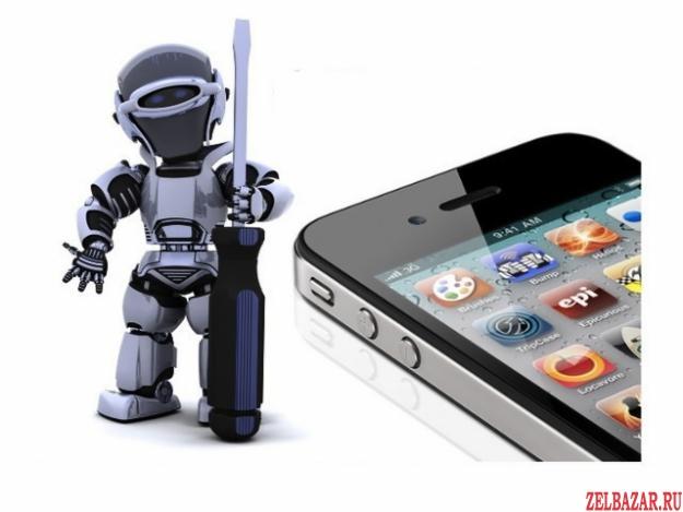 Ремонт сотовых телефонов IPhone и Samsung