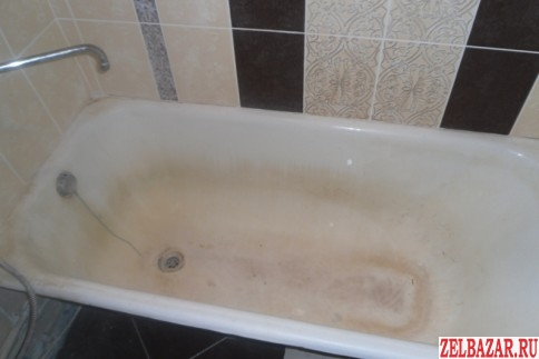 Реставрация эмали бытовых ванн