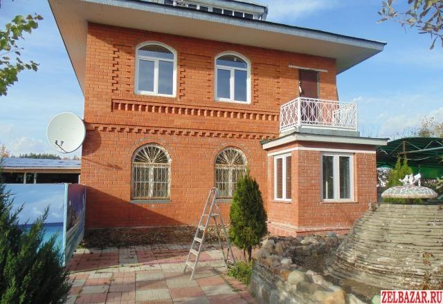 Сдам дом 2-этажный дом 210 м² ( кирпич )  на участке 6 сот.  ,  20 км до города