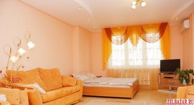 Сдам квартиру посуточно 1-к квартира 45 м² на 7 этаже 17-этажного блочного дома