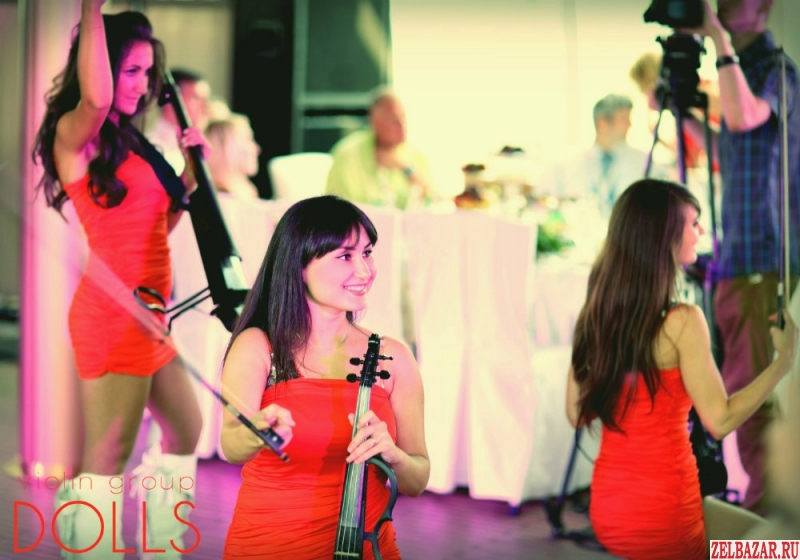 Скрипичное электро шоу Violin group Dolls,    электроскрипачки