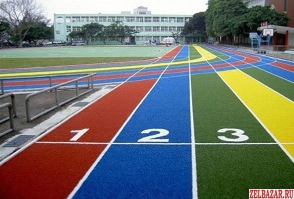 Спортивные разметки и укладки спортивных площадей