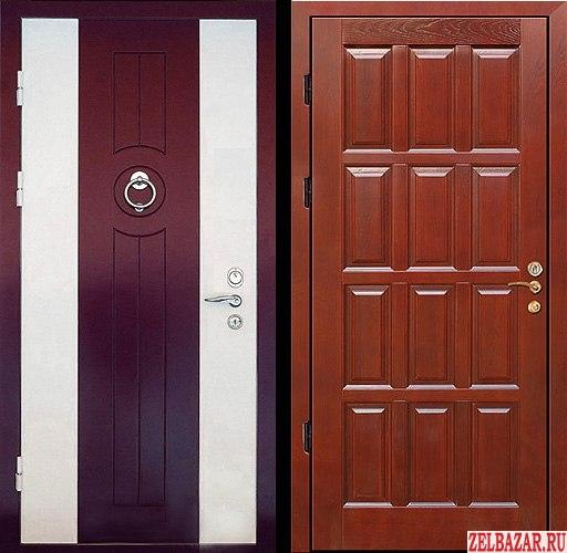 Стальные двери под ключ.