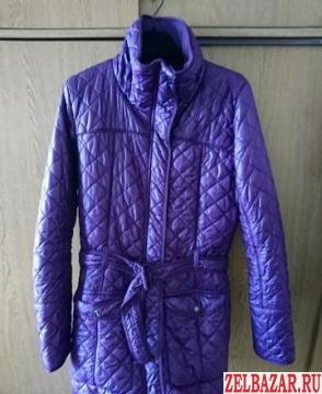 Стеганное пальто Adidas original
