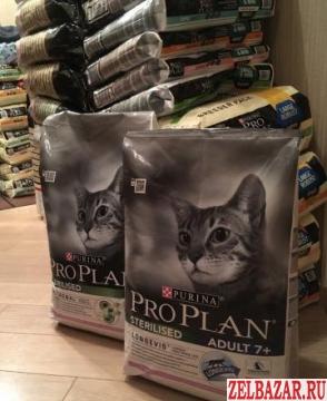 Сухой корм для кошек Purina Pro Plan,  Зеленоград