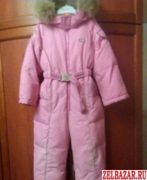 Теплый комбинезон Nels для девочки 98-104 размер