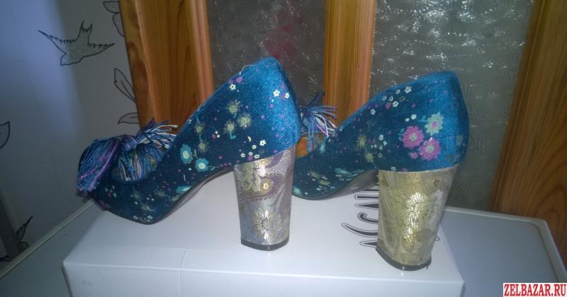 Туфли женские.   размер 39.   Одевались 1 раз