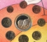 Набор Евро 8 монет 2003 г.  + жетон Ребёнок Бельгия